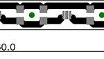Светодиодные модули типа Линейка_360х12