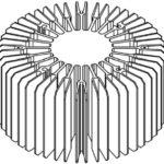Радиатор теплоотвода LMH020