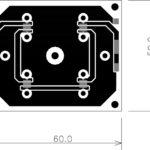 Светодиодные модули Линейка_50х60 мм