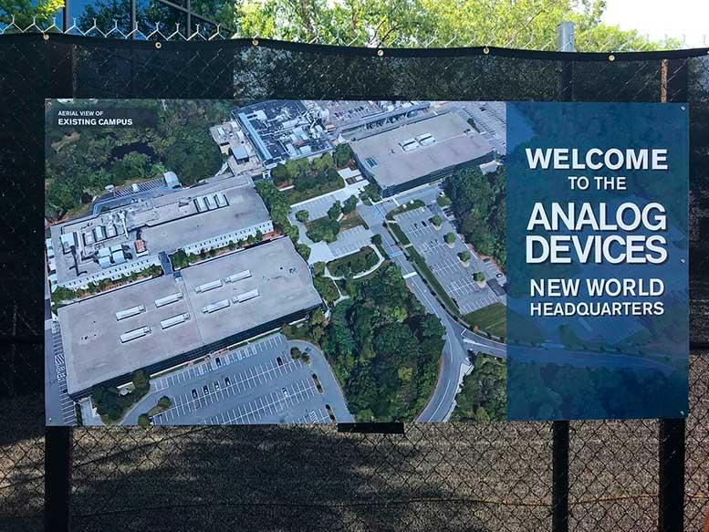 Новая штаб-квартира Analog Devices