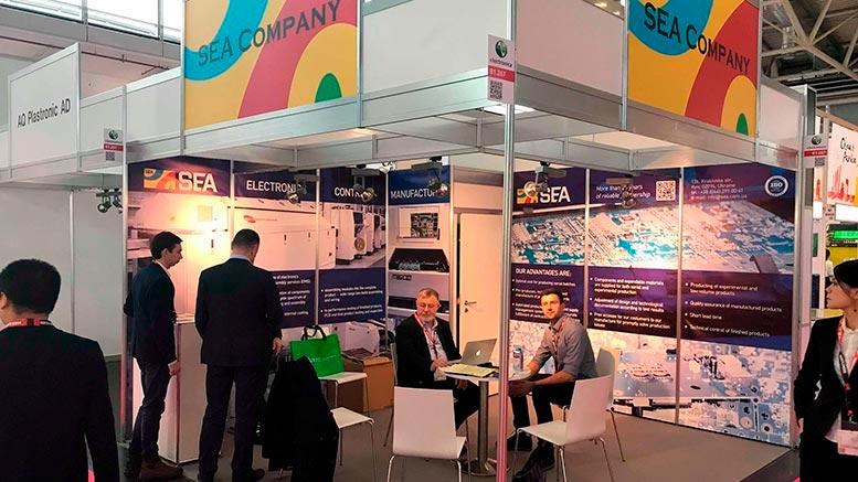 Компания СЭА на выставке electronica-2018